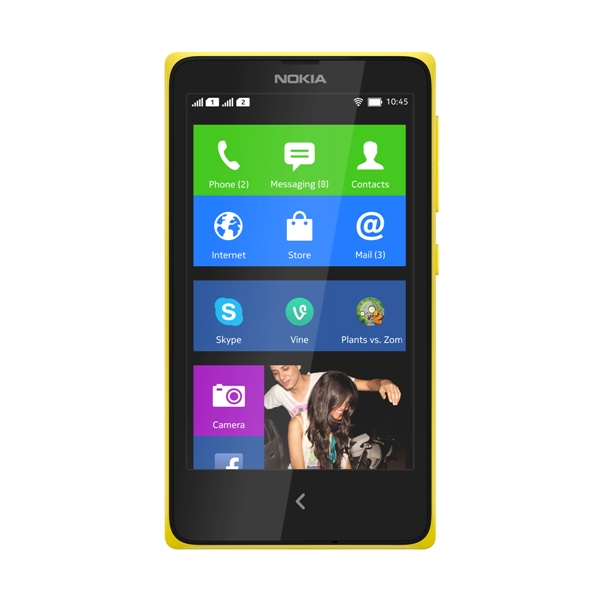 nokia_x_front_yellow_home